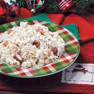Nutty Seasoned Popcorn Recipe