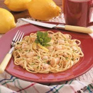 Lemon Scallop Linguine Recipe
