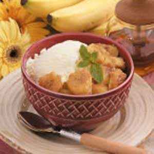 Honey Banana Sundaes Recipe