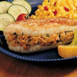 Fish Fillets with Stuffing Recipe