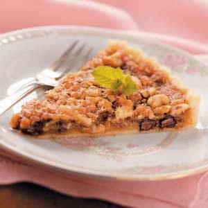 Chocolate Walnut Tart Recipe