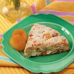 Apricot Chip Triangles Recipe