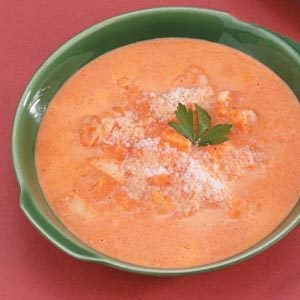 Red Pepper Shrimp Bisque Recipe