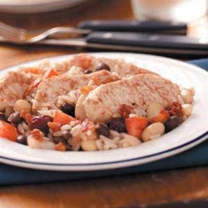 Chipotle Chicken and Beans Recipe