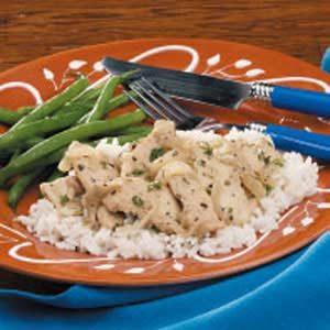 Herbed Chicken Strips Recipe