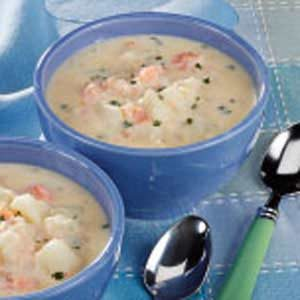 Easy Shrimp Chowder Recipe