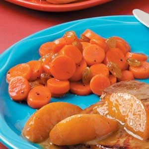 Maple Raisin Carrots Recipe