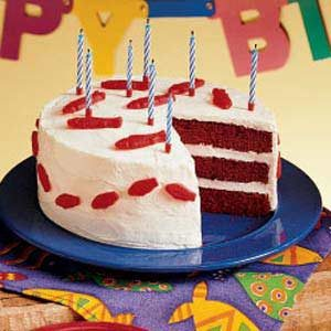 """Fishy"" Red Velvet Cake Recipe"