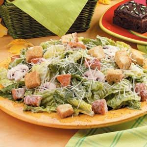 Chicken Nugget Caesar Salad Recipe