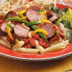 Pasta Sausage Supper Recipe