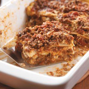 Potluck Lasagna Recipe