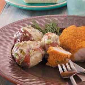 Creamed Dill Potatoes Recipe