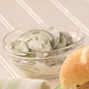Cucumbers in Sour Cream Recipe