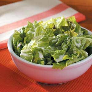 Lettuce with Buttermilk Dressing Recipe