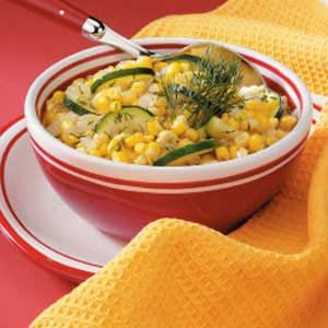 Lemon Corn and Zucchini Recipe
