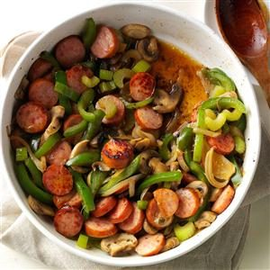Maple Sausage Skillet Recipe