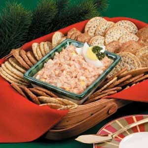 Crab-Egg Cracker Spread Recipe