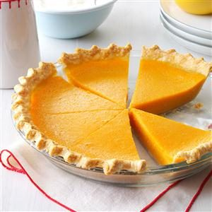 Lemony Sweet Potato Pie Recipe