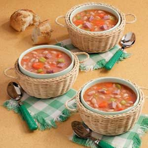 Quick Ham and Bean Soup Recipe