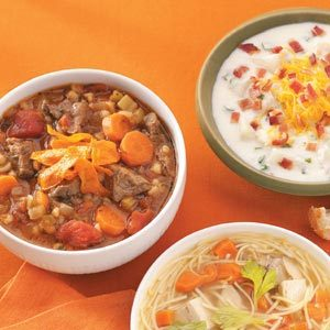 Slow-Cooked Beef Barley Soup Recipe