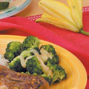 Orange Broccoli Florets Recipe