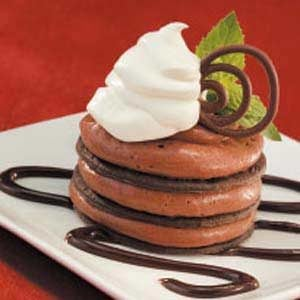 Fancy Mousse Towers Recipe