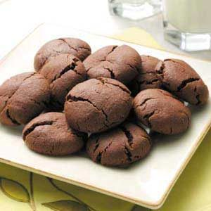 Fudgy Cocoa Drops Recipe