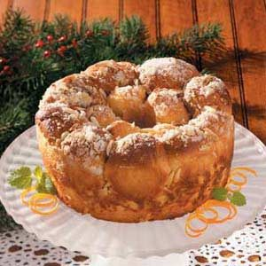 Orange Pull-Apart Coffee Ring Recipe