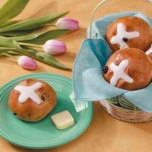 Easter Hot Cross Buns Recipe