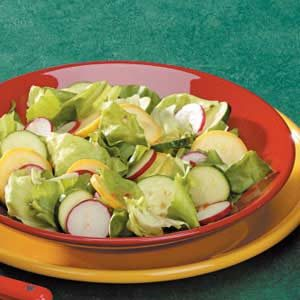 Italian Summer Squash Salad Recipe