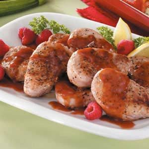 Raspberry Pork Tenderloin Recipe