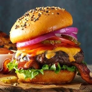 Barbecued Burgers Recipe