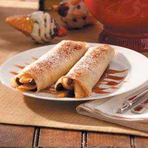 Apple Raisin Crepes Recipe