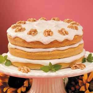 Pumpkin Spice Torte Recipe