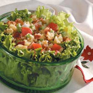 Corn Bread Salad for Two Recipe