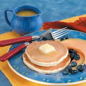 Pancakes with Orange Syrup Recipe