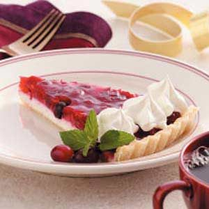 Cranberry Cheesecake Tart