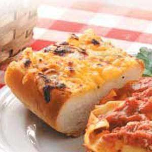 Buttery Garlic Cheese Bread Recipe