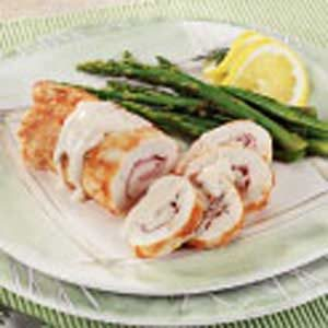 Skillet Chicken Cordon Bleu Recipe