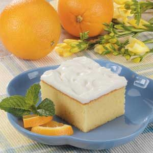 Florida Orange Cake Recipe