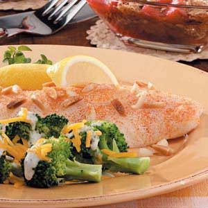 Orange Roughy Amandine Recipe