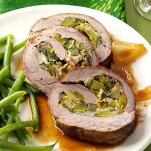 Vegetable Stuffed Flank Steak Recipe