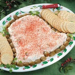 Jingle Bell Shrimp Spread Recipe
