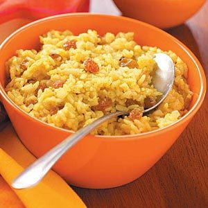 Golden Spiced Rice Recipe