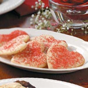 Soft Valentine Cutouts Recipe