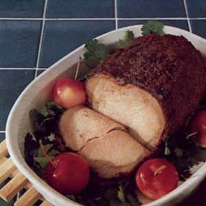 Indonesian-Style Pork Roast Recipe