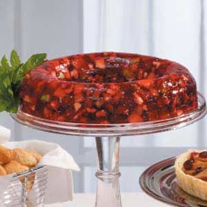 Red-Hot Gelatin Salad Recipe
