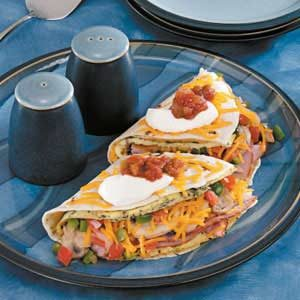 Super-Stuffed Omelet Recipe