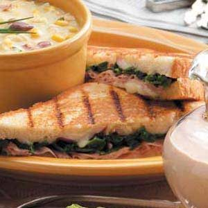 Chicken Florentine Panini Recipe