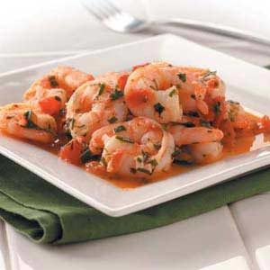 Shrimp in Herbs Recipe